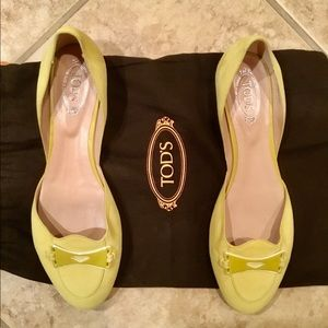 COPY - Tods's Yellow/Green Suede Shoes